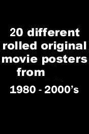 20 various posters - Authentic Original 27