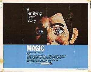 """Magic - Authentic Original 28"""" x 22"""" Movie Poster"""