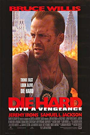 Die Hard With A Vengeance - Authentic Original 26.75