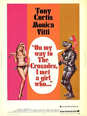 """On My Way To The Crusades I Met A Girl Who - Authentic Original 30"""" x 40"""" Movie Poster"""