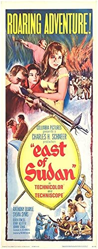 "East Of Sudan - Authentic Original 14"" x 36"" Movie Poster"