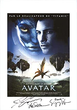"""Avatar - Authentic Original 11.75"""" x 16.5"""""""