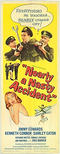"""Nearly A Nasty Accident - Authentic Original 14"""" x 36"""" Movie Poster"""
