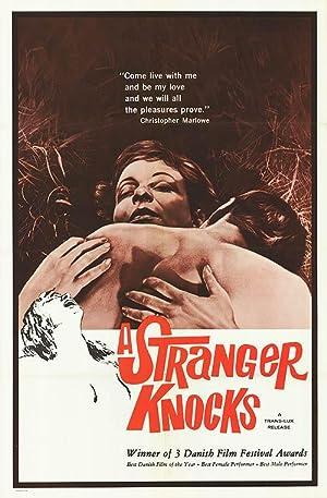 "Stranger Knocks - Authentic Original 27"" x 41"" Folded Movie Poster"