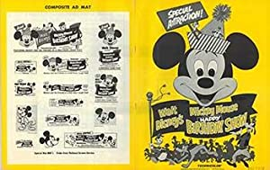 Mickey Mouse Happy Birthday Show - Authentic Original 14