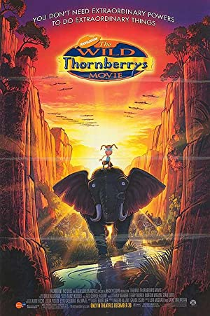 Wild Thornberrys Movie - Authentic Original 26.75