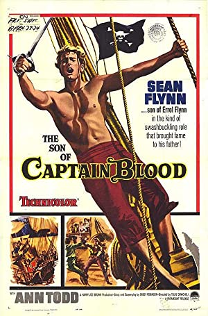 "Son Of Captain Blood - Authentic Original 27"" x 41"" Folded Movie Poster"