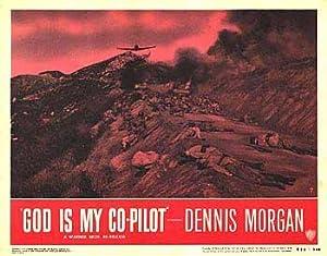 "God Is My Co Pilot - Authentic Original 14"" x 11"" Movie Poster"