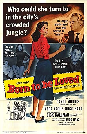 "Born to be Loved - Authentic Original 27"" x 40"" Folded Movie Poster"