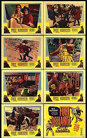 "Fort Defiance - Authentic Original 14"" x 11"" Movie Poster ..."