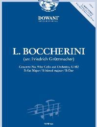 BOCCHERINI - Concierto nº 9 en Sib Mayor para Violoncello y Piano (Inc.CD) (Grutzmacher) - BOCCHERINI