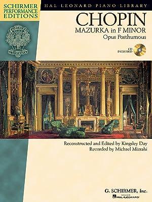 CHOPIN - Mazurka en Fa menor Op.: CHOPIN