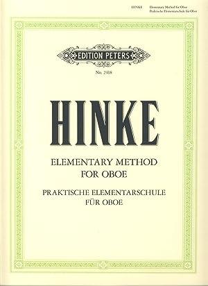 HINKE G.A. - Praktische Elementarschule (Elementary Method): HINKE G.A.