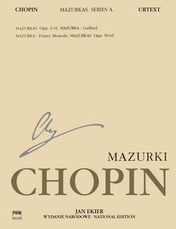 CHOPIN - Mazurkas para Piano (Urtext) (Ekier): CHOPIN