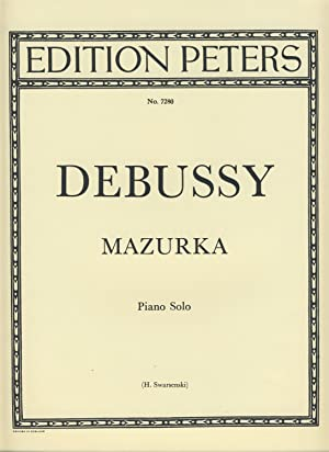 DEBUSSY - Mazurka para Piano (Swarsenski): DEBUSSY