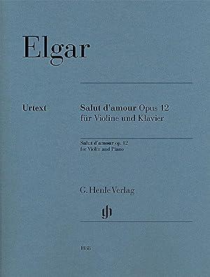 ELGAR - Salut d amour Op.12 nº: ELGAR