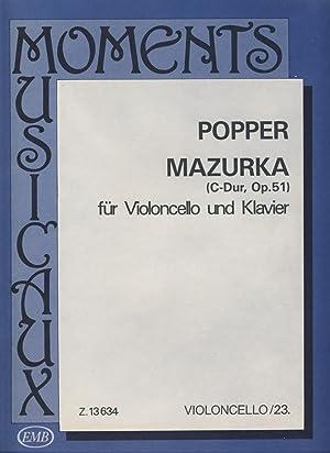 POPPER - Mazurka Op.51 en Do Mayor: POPPER