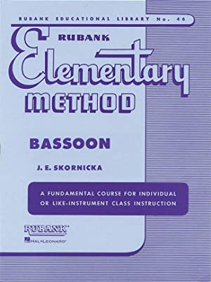 RUBANK - Elementary Method for Bassoon (Skornicka): RUBANK