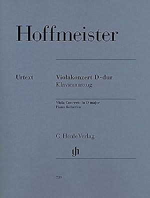 HOFFMEISTER - Concierto en Re Mayor para: HOFFMEISTER