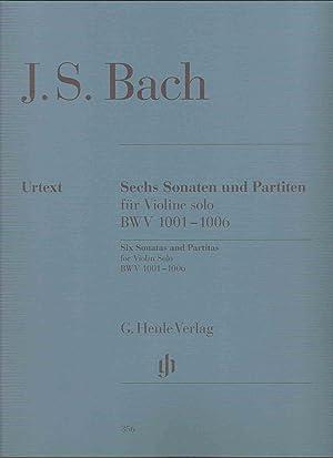 BACH - Sonatas y Partitas para Violin: BACH