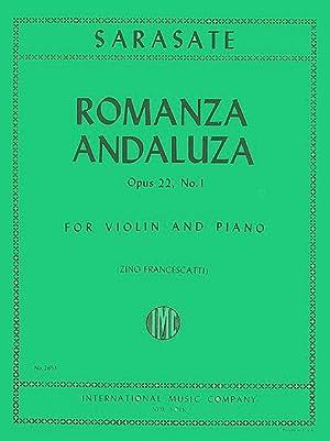 SARASATE - Romanza Andaluza Op.22 nº 1: SARASATE