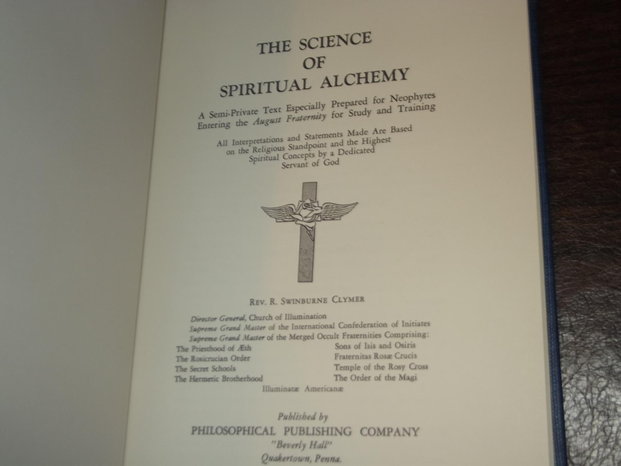The Science of Spiritual Alchemy