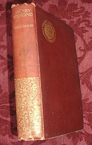 The History of Henry Esmond, Esq.: Thackeray, W. M.,