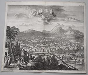 DAMASCUS IN SYRIEN - Original Antique Etching