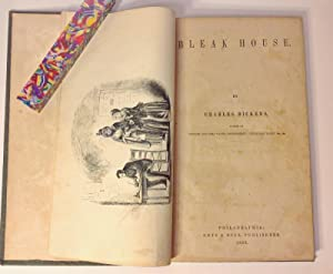 Bleak House: 1853 Getz & Buck in a Unique Publisher's Cloth Binding [ Early American ...