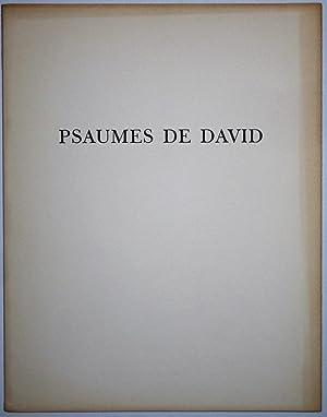 Psaumes De David: Eaux-Fortes Originales De Marc: Patrick Cramer (Editor)