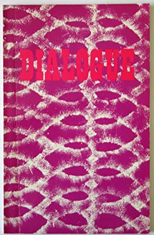 Dialogue 1971: A Literary Annual For Young Writers South African And Overseas