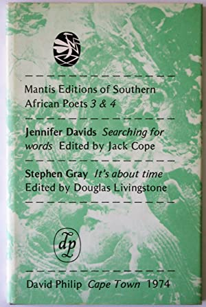 Searching For Words / It's About Time: Mantis Editions Of Southern African Poets 3 & 4