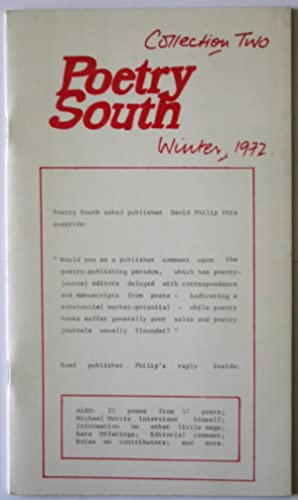 Poetry South: Collection 2 - Winter 1972