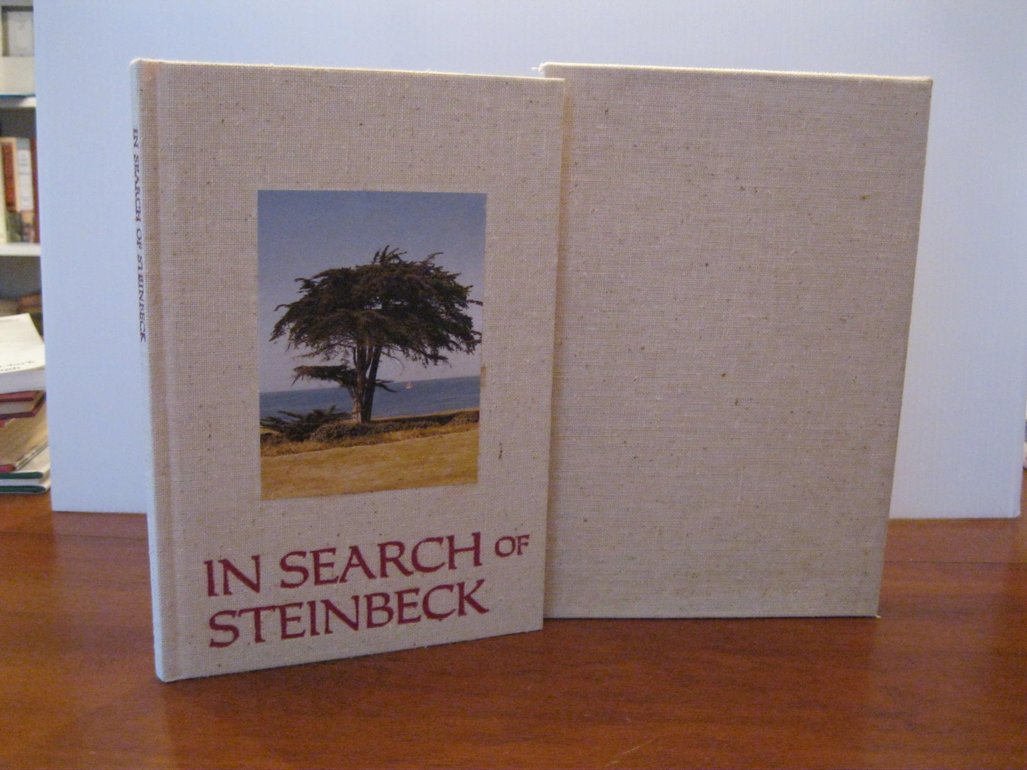 IN_SEARCH_OF_STEINBECK_*SIGNED*_SCHMITZ_ANNE__MARIE_Near_Fine_Hardcover
