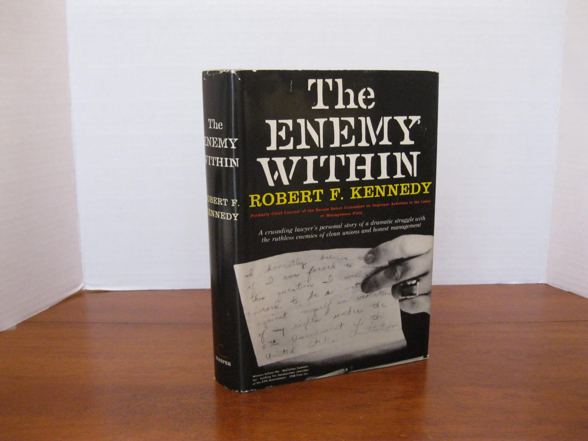THE_ENEMY_WITHIN_KENNEDY_ROBERT_F_Very_Good_Hardcover