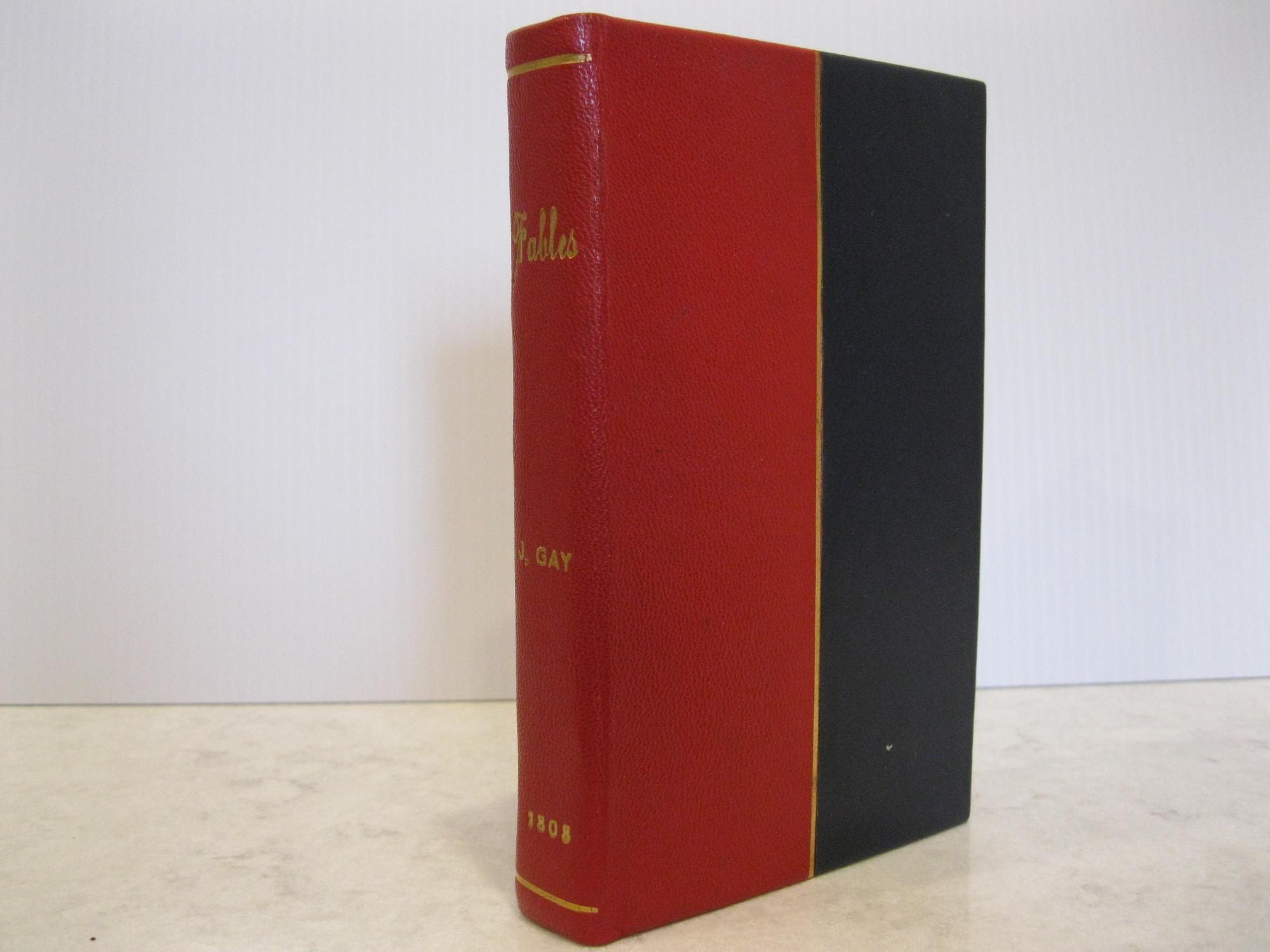 FABLES_BY_JOHN_GAY_WITH_THE_LIFE_OF_THEIR_AUTHOR_EMBELLISHED_WITH_SEVENTY_ELEGANT_ENGRAVINGS_IN_ONE_VOLUME_COMPLETE_GAY,_JOHN_[Very_Good]_[Hardcover]