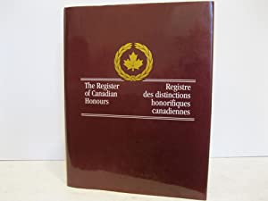 THE REGISTER OF CANADIAN HONOURS