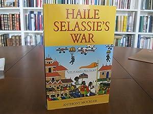 HAILE SELASSIE'S WAR: MOCKLER, ANTHONY