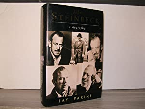JOHN STEINBECK A BIOGRAPHY *SIGNED BY ELAINE STEINBECK AND THE AUTHOR*
