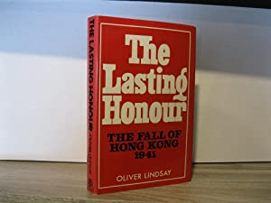 THE LASTING HONOUR *SIGNED BY AUTHOR*