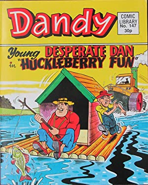 DANDY COMIC LIBRARY. 1989. NO.147. DESPERATE DAN.