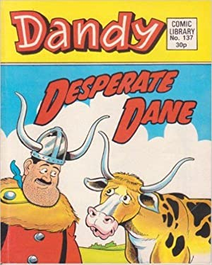 DANDY COMIC LIBRARY. 1989. NO.137.Desperate Dane