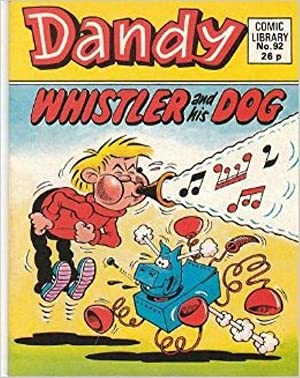 DANDY COMIC LIBRARY. NO.92.Whistler and his Dog