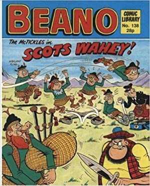 BEANO COMIC LIBRARY No 138