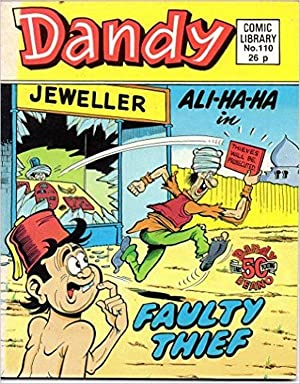 DANDY COMIC LIBRARY No 110