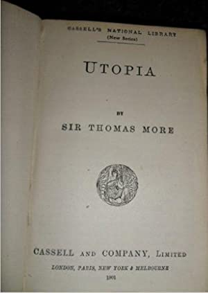 Utopia: Cassell'S National Library Edition