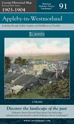 Appleby-in-Westmorland (Cassini Historical Map, Revised New Series