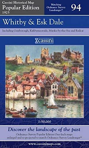 Whitby and Esk Dale (Cassini Popular Edition
