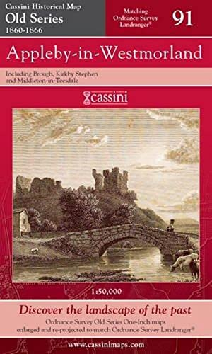 Appleby-in-Westmorland (Cassini Old Series Historical Map)