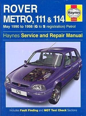 rover 620 repair manual